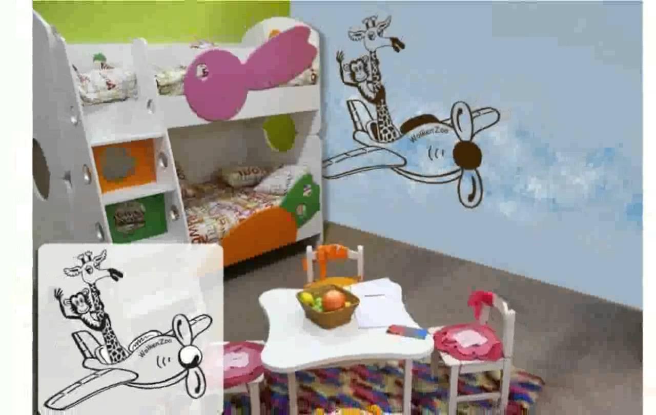 Kinderzimmer ausmalen ideen home creation for Ideen babyzimmer wandgestaltung