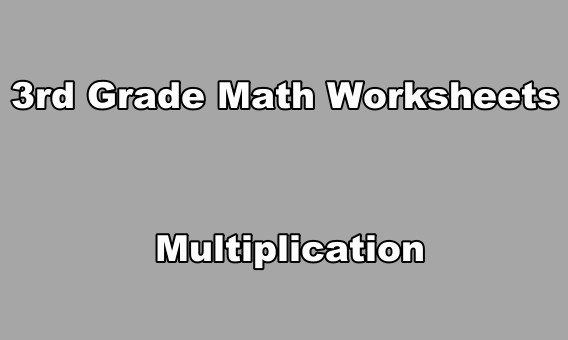Exercours: 3rd Grade Math Worksheets Multiplication