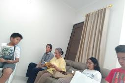 Pemberkatan Rumah Bapak Anggoro Lingkungan Felisitas 3