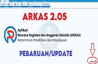 PEMBARUAN/UPDATE APLIKASI RKAS VERSI 2.05