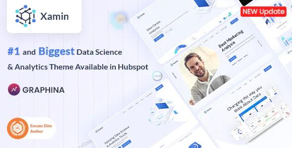 Best Data Science & Technology HubSpot Theme