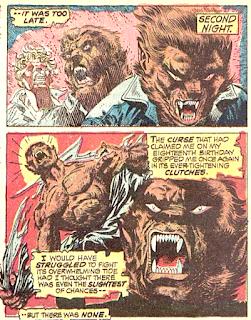 Werewolf by Night #11, transformation