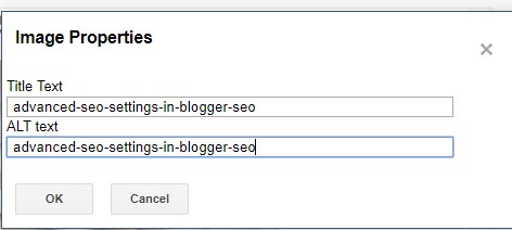 Advanced SEO Settings In Blogger ( SEO Techniques )