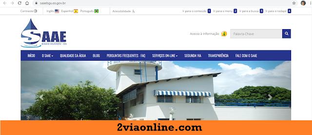 2Via SAAE Baixo Guandu-ES