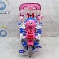 family unicorn sepeda roda tiga anak