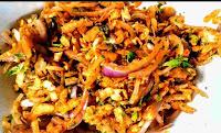 Spiced onion samosa fillings