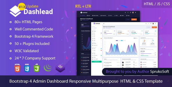 Best Admin Dashboard Template