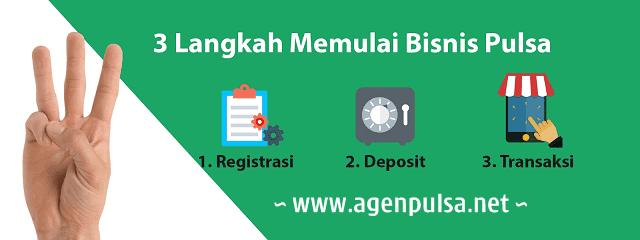 Cara Memulai Usaha Bisnis Jualan Pulsa Elektrik Murah All Operator Bersama AgenPulsa.net