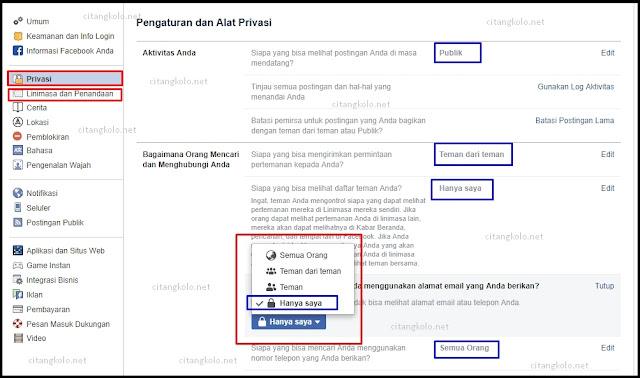 Mengamankan Akun Facebook Supaya tidak mudah di bobol