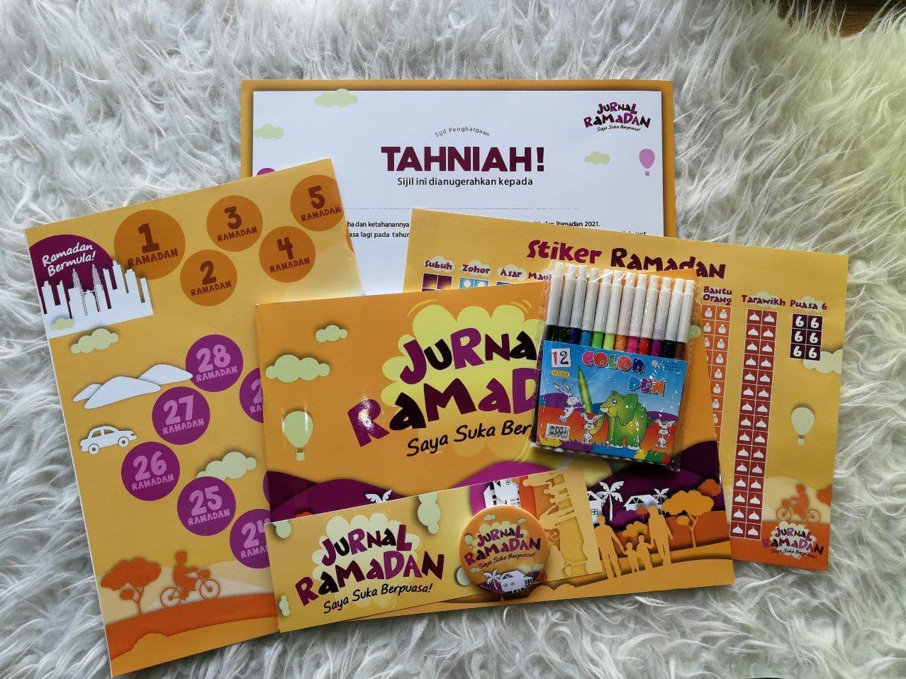 jurnal ramadan untuk kanak-kanak