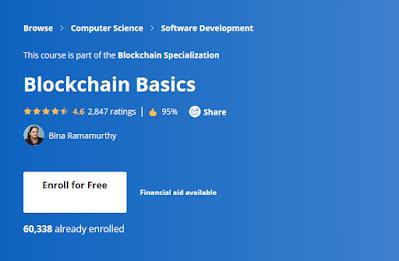 best Blockchain Certification from Coursera