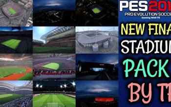Pack de Estadios Final | PES2017 | PC