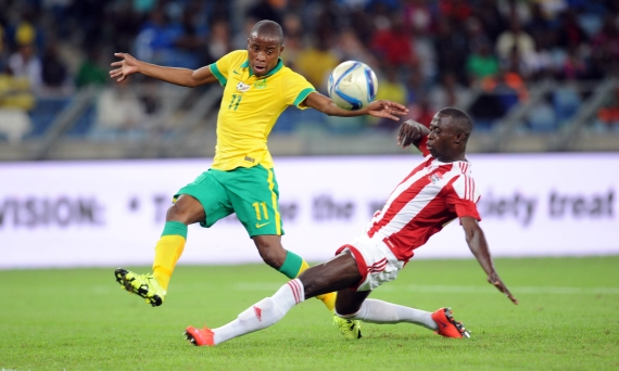 South Africa vs Gambia - Thabo Matlaba