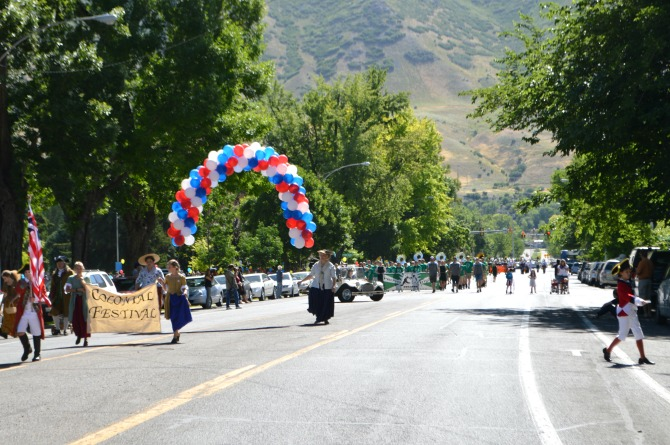 Holidays in July in Provo