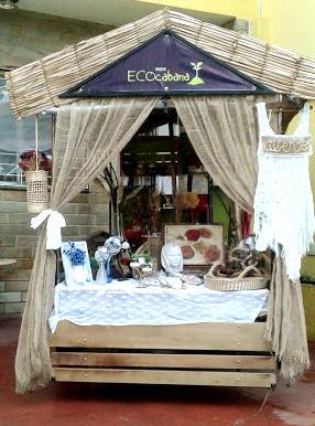 Eco cabana - vitrine