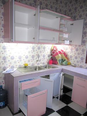 Kitchen Set Model U + Furniture Semarang