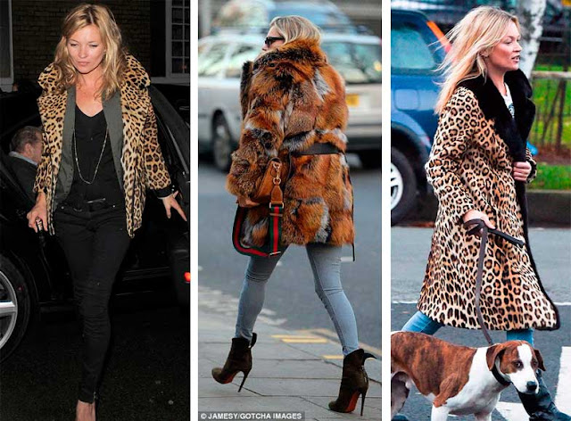 Looks Animal Print Kate Moss