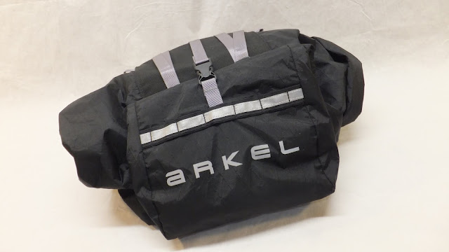 Arkel Rollpacker 25 bikepacking