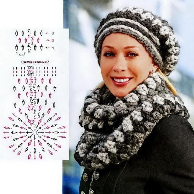 crochet hat pattern, woman, easy