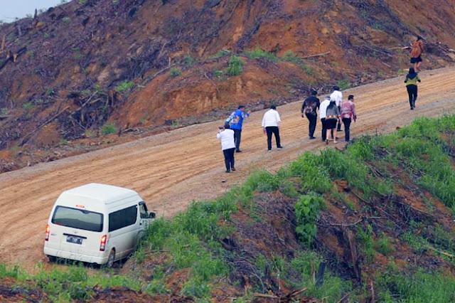Kesaksian Penumpang Mobil Rombongan Menteri yang Nyaris Celaka saat Meninjau Ibu Kota Baru