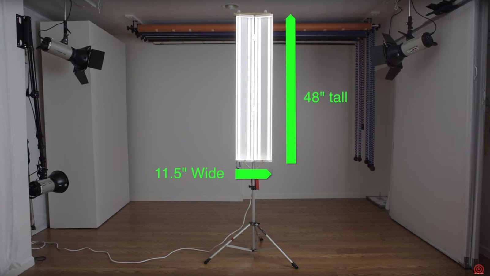 DIY Photography LED Studio Lights for Portraits