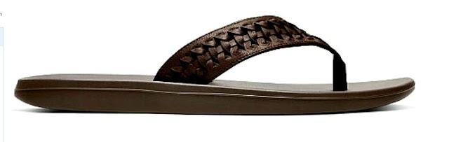 Nike Men's Kepa Kai Thong 2 Lea Leather Sliders