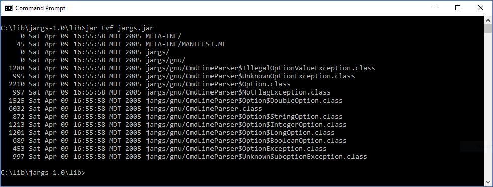 Java Command-Line Interfaces (Part 13): JArgs - DZone Java