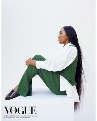 Naomi Osaka Vogue Japan