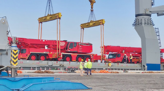 Saudi firm sets up logistics hub in Port of Duqm
