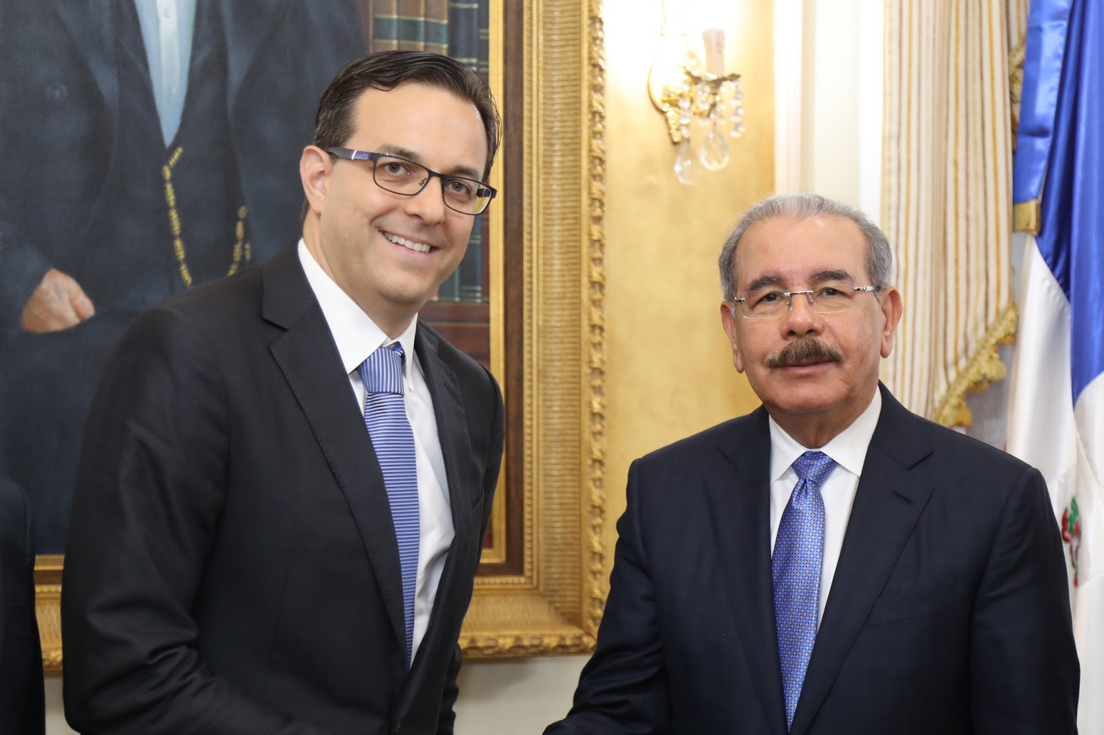 Danilo Medina recibe al director general de Nestlé para República Dominicana, Haití y Cuba