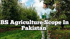 BS Agriculture Scope In Pakistan