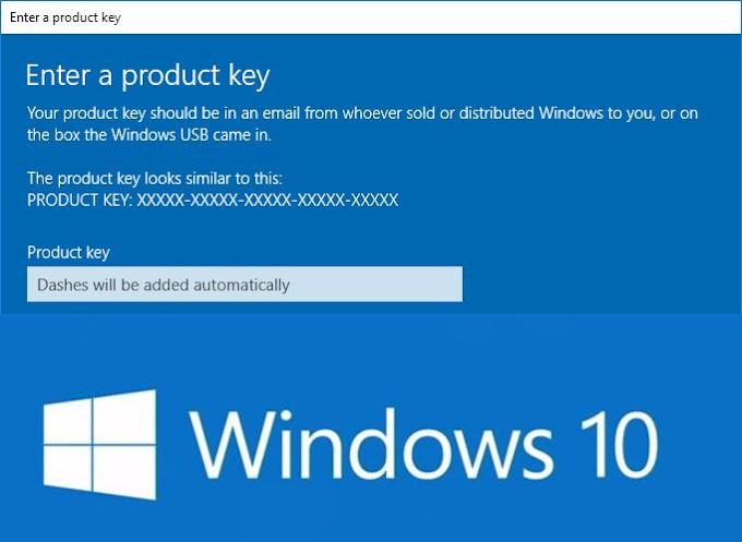 Windows 10 Ürün Anahtarı Ücretsiz 2019