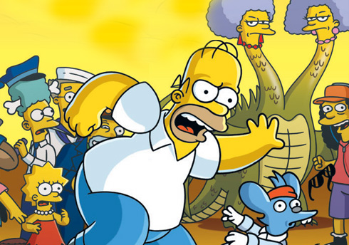Simpsons Game PS