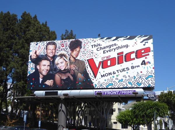The Voice season 11 billboard