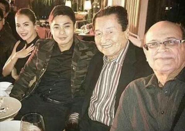 Julia Montes with Coco Martin Ang Probinsyano cast Eddie Garcia & Jaime Fabregas