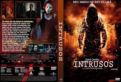Filme Intrusos (Intruders) 2011 DVD Capa