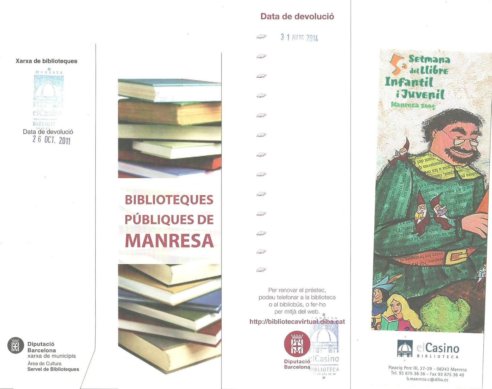 Biblioteca Casino Manresa