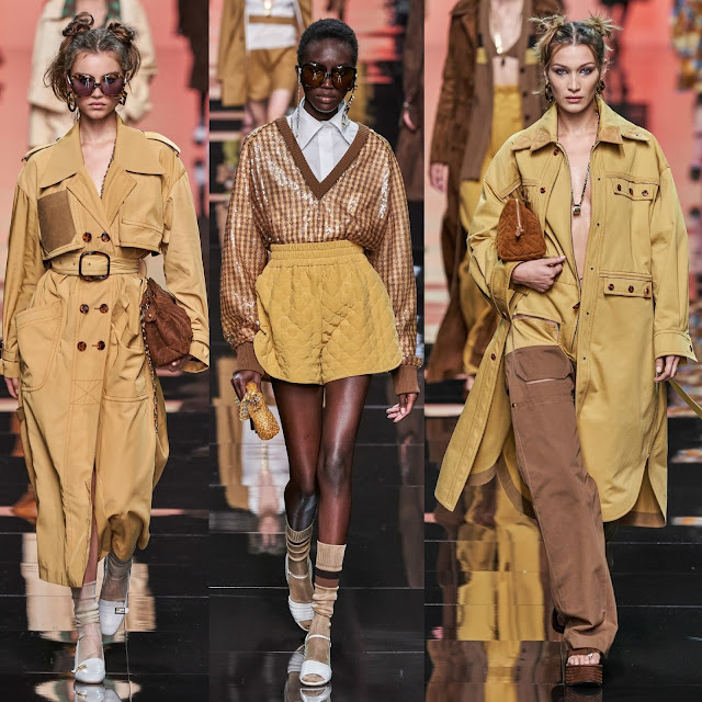 Fendi Spring Summer 2020 Milan Fashion Week by RUNWAY MAGAZINE