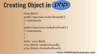 Creating Object in PHP