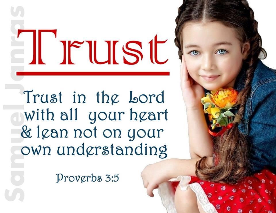 Trust Baby Wallpaper