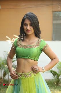 Actress Nikitha Bisht Stills in Lehenga Choli at Pochampally Ikat Art Mela Launch  0247.JPG