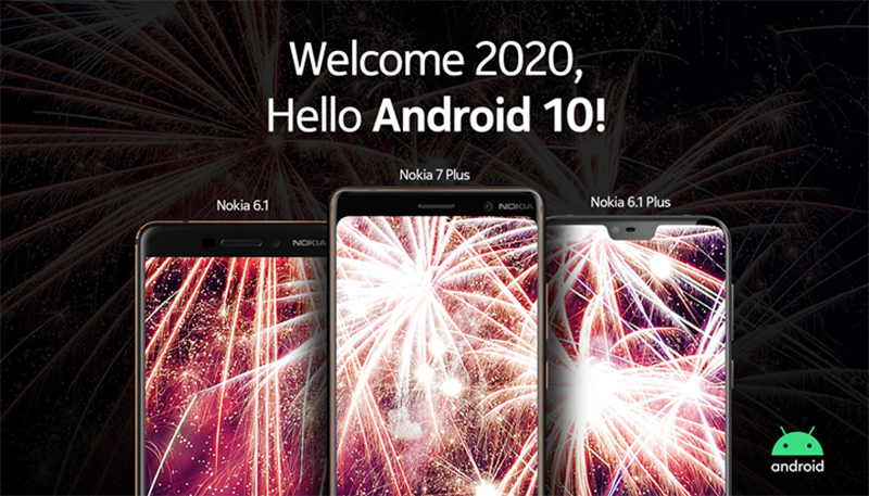 Nokia Android 10 phones