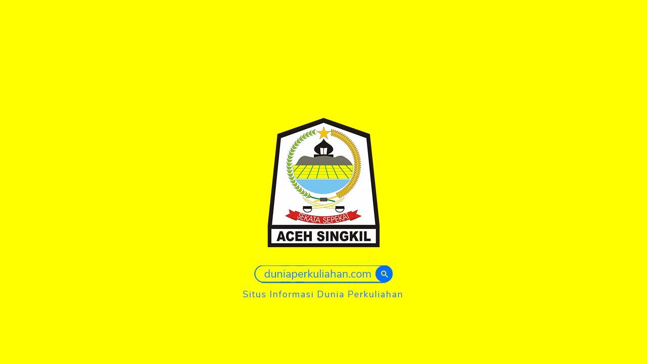 Daftar Perguruan Tinggi di Aceh Singkil