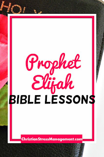 The Prophet Elijah Bible Lessons