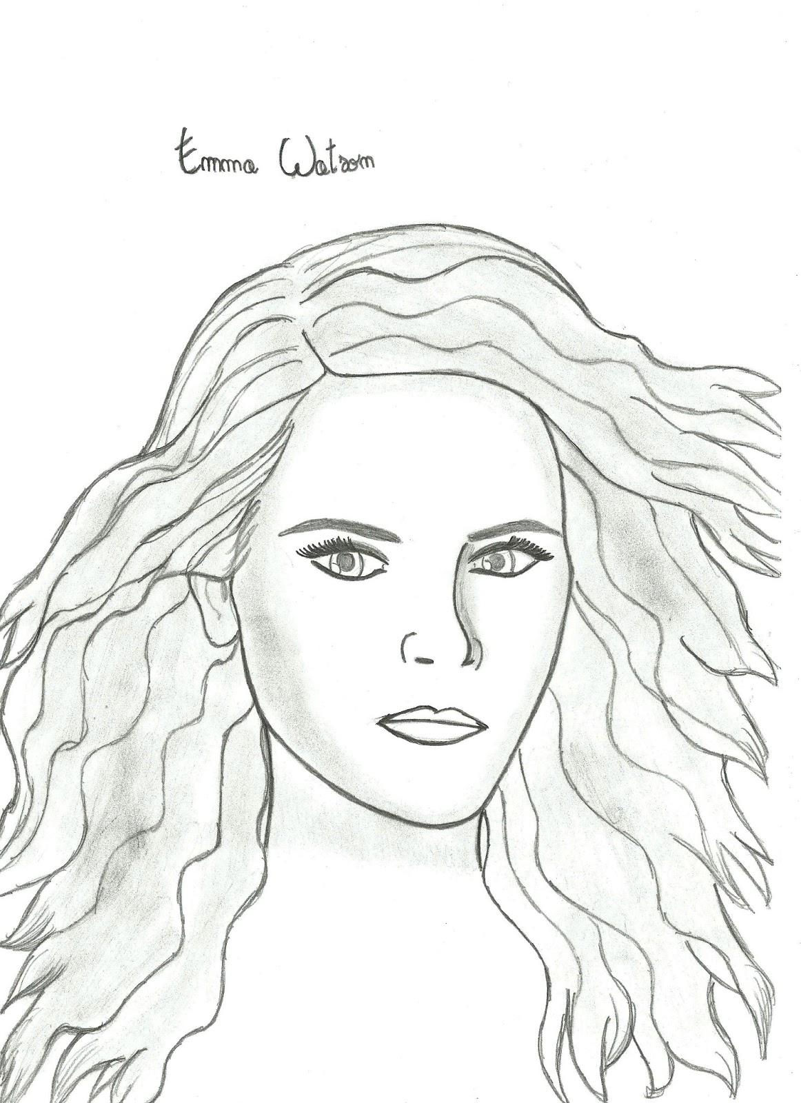 Yo-Drawing: Emma Watson