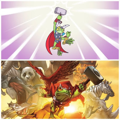 Throg lifts Mjolnir