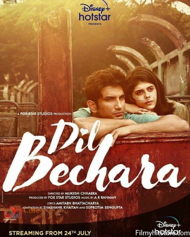 Dil Bechara  Full Movie Leaked By Filmywap