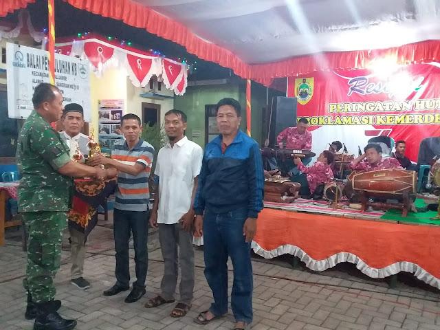 Resepsi HUT RI Ke-74 Kecamatan Kalijambe