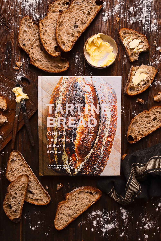 """""""Tartine Bread. Chleb z najlepszej piekarni świata"""" Chad Robertson - recenzja książki + przepis na grzanki z karmelizowaną pomarańczą"""