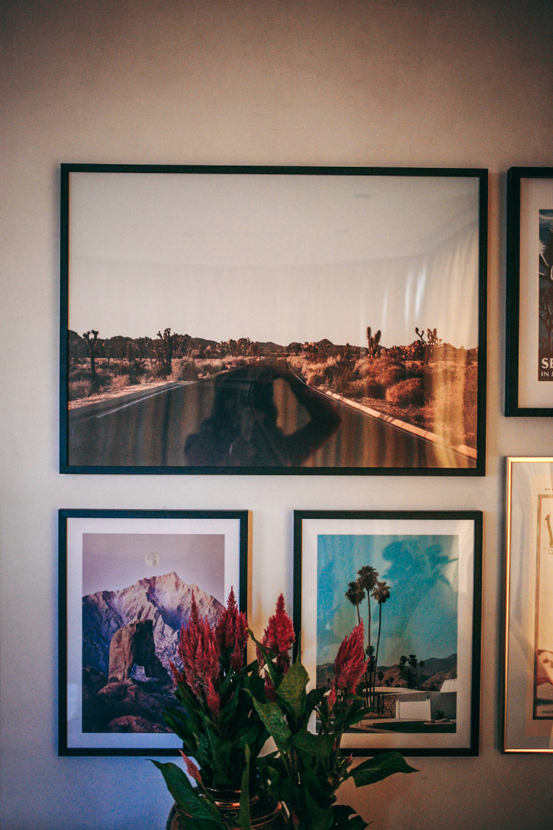 Creating our gallery wall with Desenio - and a discount code!